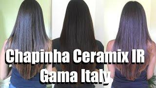 Chapinha Ceramix IR Gama Italy - Blog Rock com Luxo