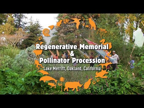 Regenerative Memorial & Pollinator Procession - Lost Species Day 2017