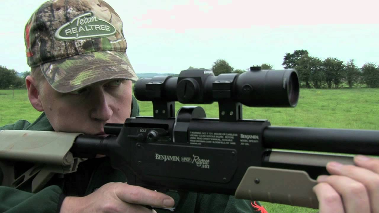 Benjamin Rogue  357 - The world's most powerful production air rifle