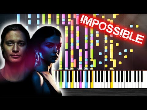 Kygo, Selena Gomez - It Ain't Me - IMPOSSIBLE PIANO By PlutaX