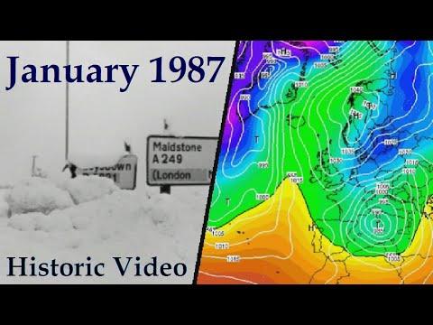Historic Weather - January 1987