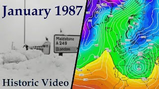 Historic Weather - January 1987