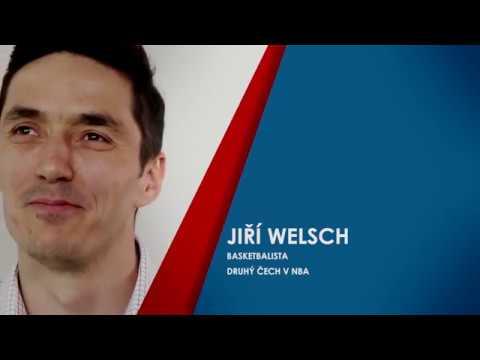Jiří Welsch - cesta do NBA