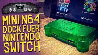Nintendo Switch-Dock im N64-Look! Löst das RetroN S64 die 3rd-Party Probleme? (Review / Test)