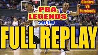 PBA Legends Return of the Rivals Ginebra vs. PureFoods Full Exhibition Game February 17 2019 Replay