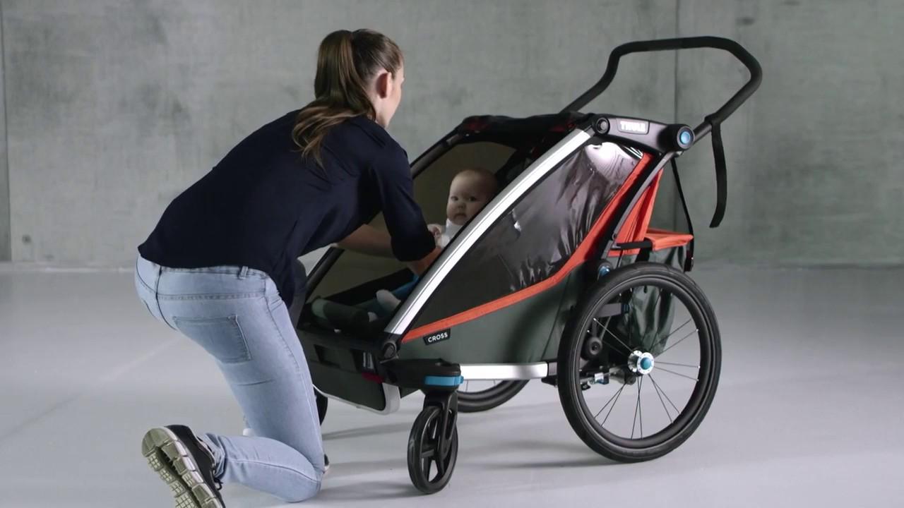 Thule Chariot Hngematte Babysitz Infant Sling Wild e