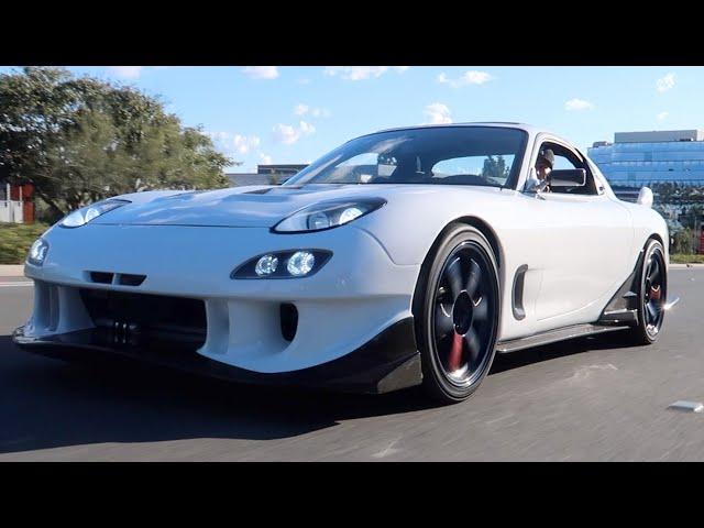 My Mazda RX-7 First drive! (updated)