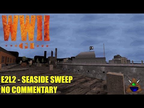World War II GI - E2L2 Seaside Sweep - No Commentary |