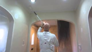 How to Paint a Popcorn Stucco Ceiling - Home Painters