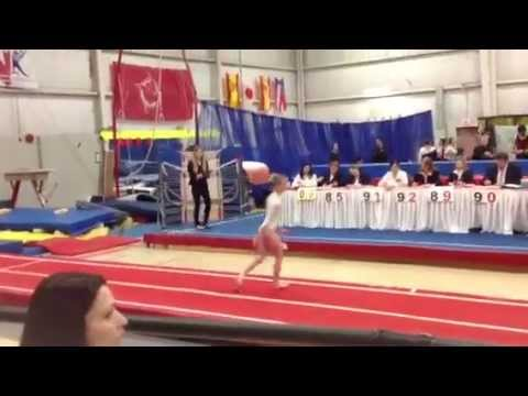 Tumbling 3rd Ontario Cup Level P2 Pass 1