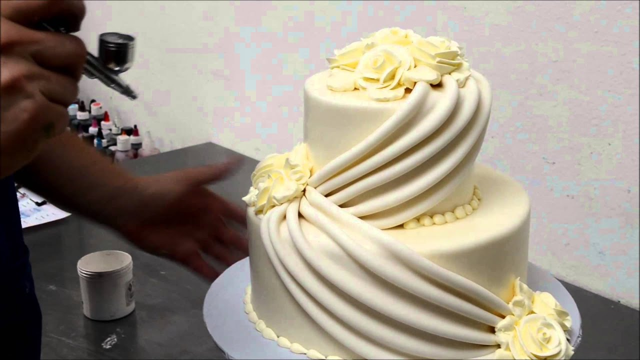 Make Wedding cakes with Roses   YouTube Make Wedding cakes with Roses