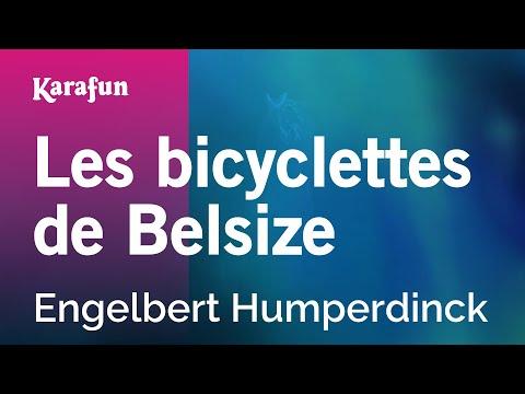 Karaoke Les bicyclettes de Belsize -...