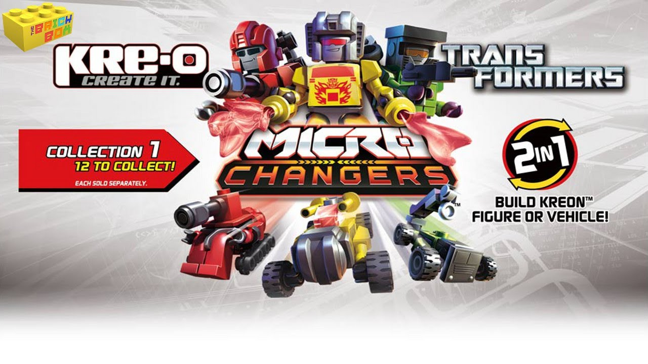 Kre O Transformers Micro Changers Series 1 Blind Bags