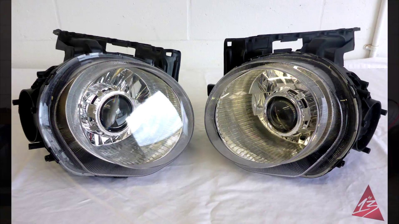 2011-2014 Nissan Juke Projector Headlights w/HIDs Retrofit ...