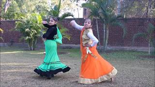 Dance on Radha Krishna New serial Raasleela song by sanvi & Ananya