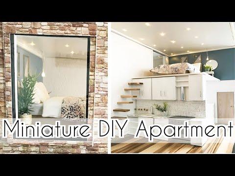 DIY dollhouse ( miniature loft apartment)