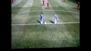 Mereiles wiped out by Andy Carroll Fifa 12