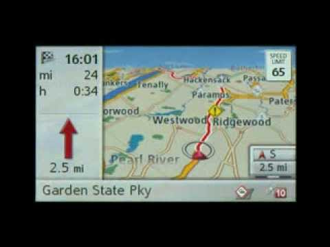 mercedes navigation with becker map pilot youtube. Black Bedroom Furniture Sets. Home Design Ideas