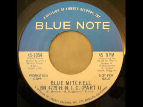 Blue Mitchell   BN 4779   H N I C  Pt  I   Blue Note 1954