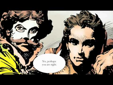 Romeo & Juliet Motion Full Graphic Novel: Listen, Read & Watch (34 Minutes)