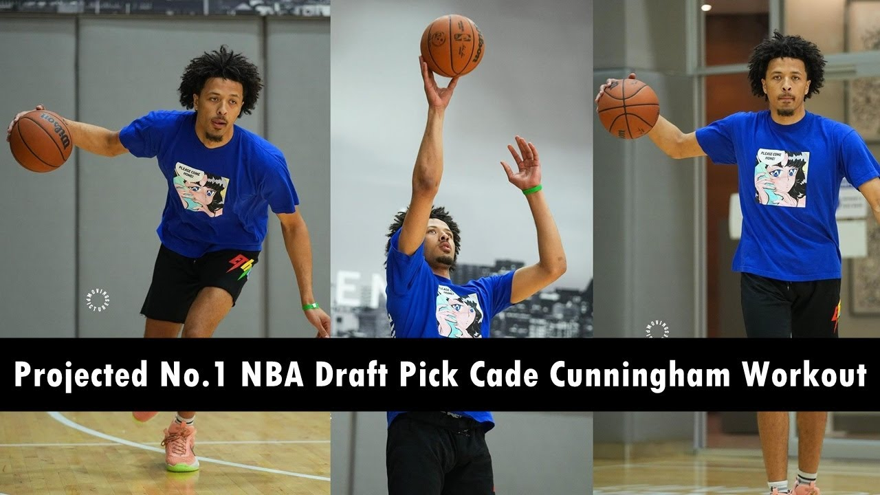 Top NBA pick Cade Cunningham wants to be the next LeBron ...