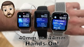 40mm vs. 44mm Apple Watch Series 4 Hands-On Comparison. Which One Did I Get?