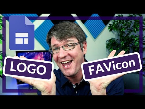 How to add a logo and favicon to your Google Sites