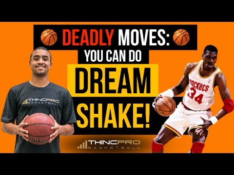 How to: DEADLY Basketball Moves - HAKEEM OLAJUWON Dream Shake! (Simple Step by Step)