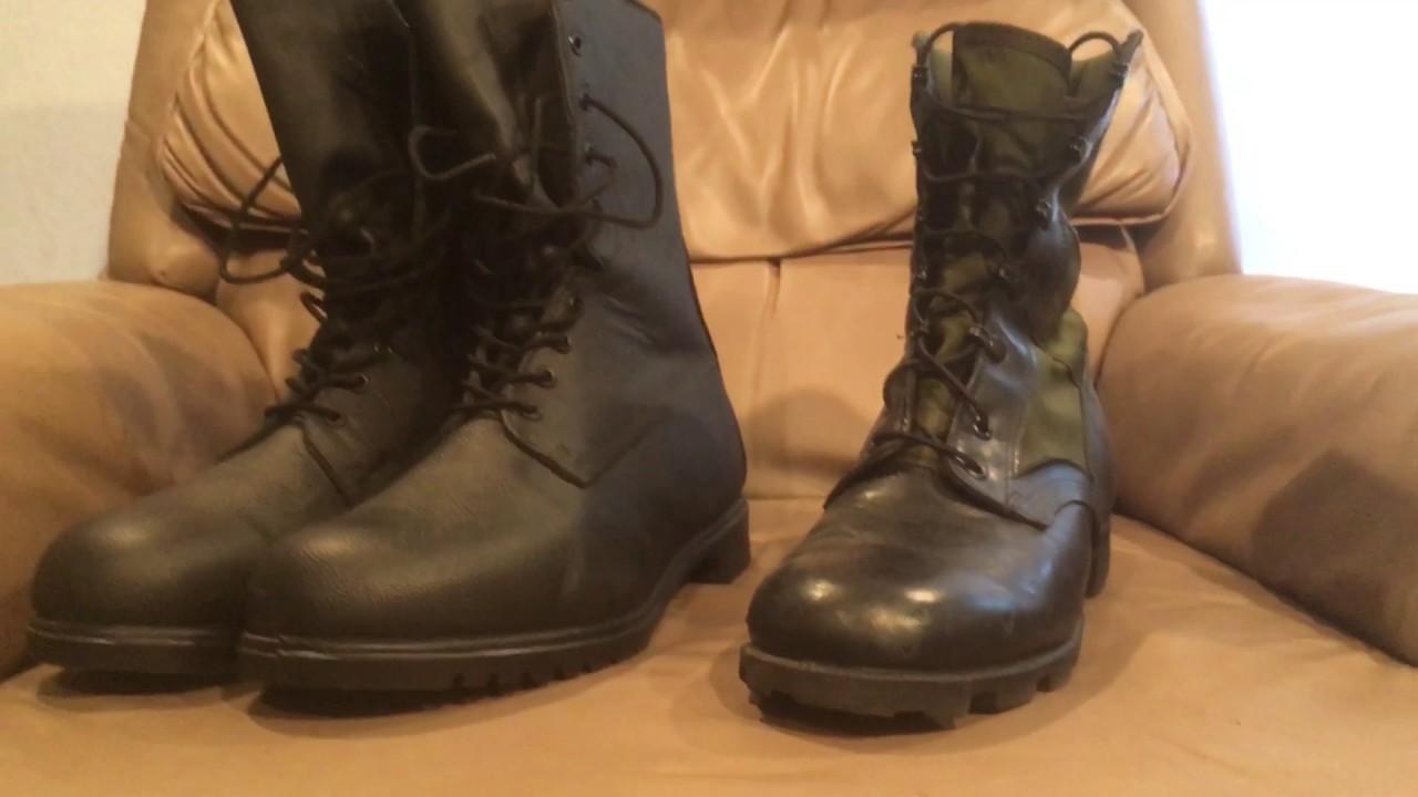 Canadian mk III boots - YouTube