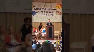 Tony Danza - Commencement Speech Clip PS 216