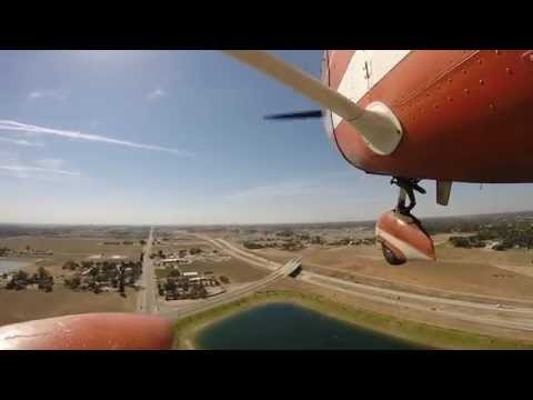 Flying the San Joaquin Valley GoPro HD1080