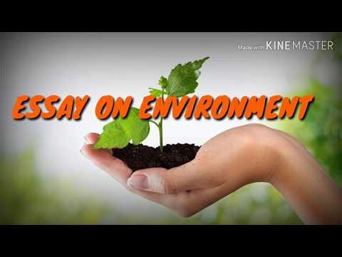 Видео Essay on protect your environment