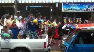 Songkran Festival 2012 - Hatyai, Thailand
