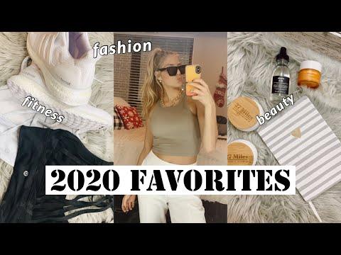 2020 FAVORITES / fitness, fashion, & beauty - Видео онлайн