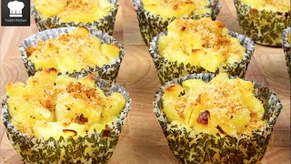 Macaroni & Cheese Cupcakes
