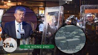 Tin nóng 24H   TQ triển khai quân đội ở biên giới Hong Kong chuẩn bị dẹp biểu tình ?