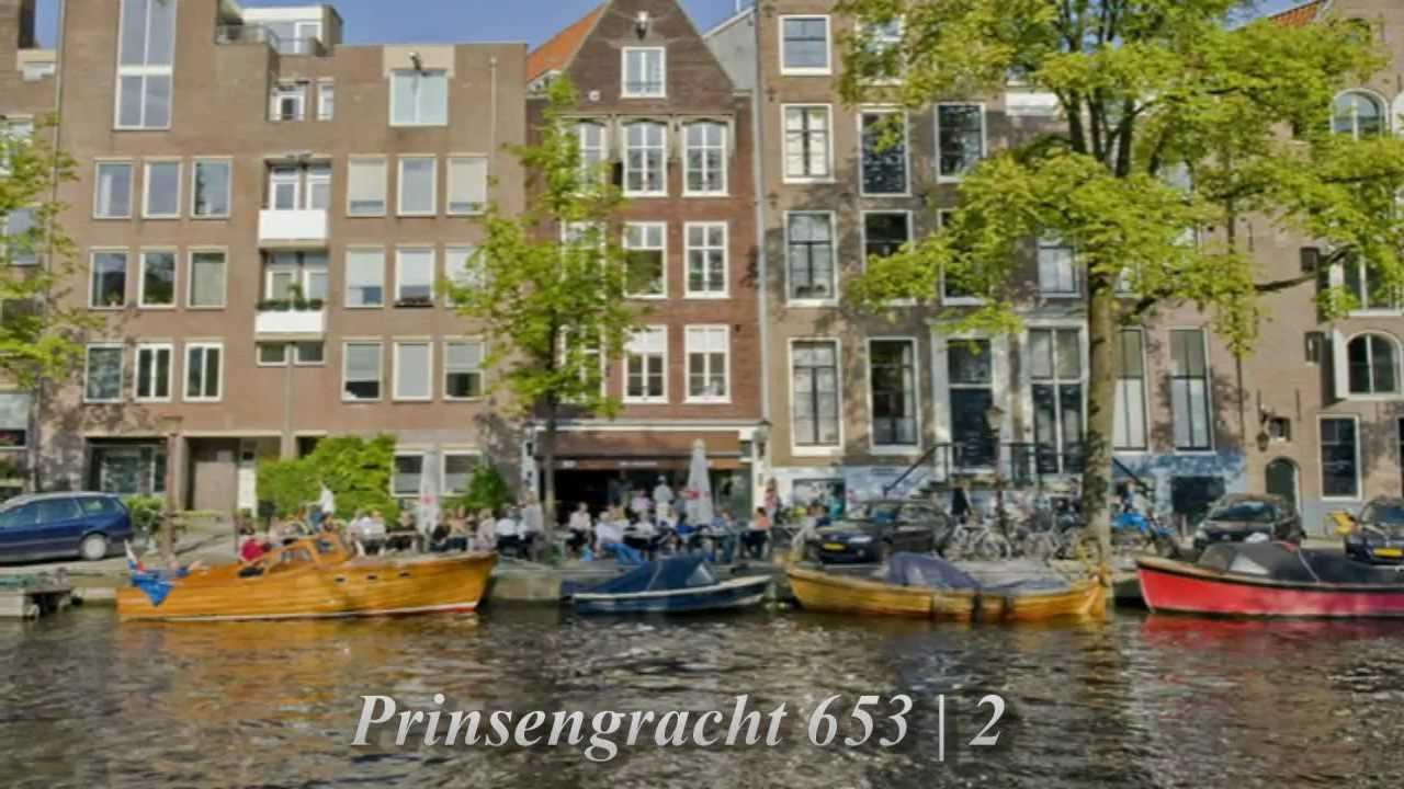 Prinsengracht te koop luxe appartement in amsterdam youtube - Te koop ...