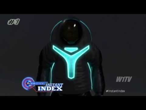 The NASA Z-2 New Spacesuit Tron-Like Design For Mission To Mars