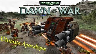 Dawn of War: Ultimate Apocalypse!  Battling The Ork's! - W4sted & Shack Coop Gameplay