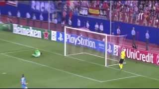 видео Лига чемпионов, «Атлетико» — «Зенит». 18.09.2013. Прямая трансляция из Мадрида