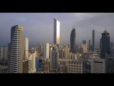 Kuwait's Blossoming Skyline