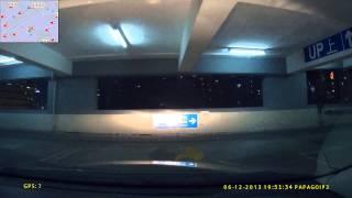 安達中心停車場 (入)