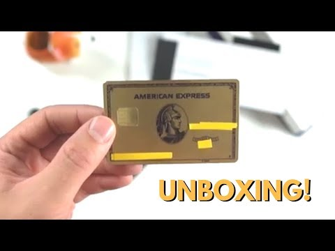 """New"" METAL Amex Gold Card Unboxing"