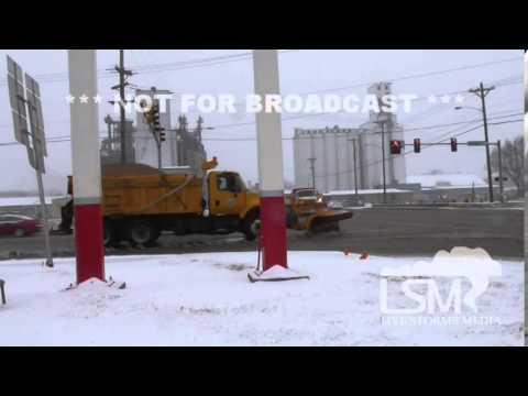2-4-14 Stillwater, OK Driving in snow *Justin Marre HD*