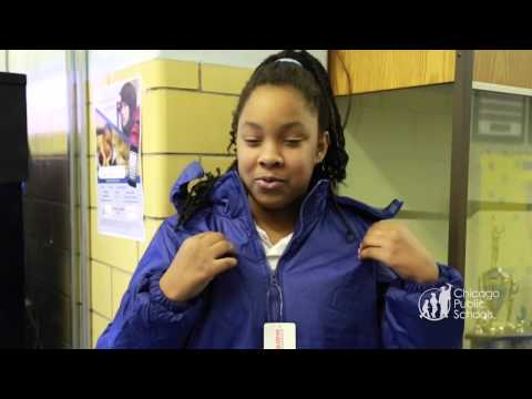 Operation Warm and Wells Fargo Coat Drive at Manierre Elementary School