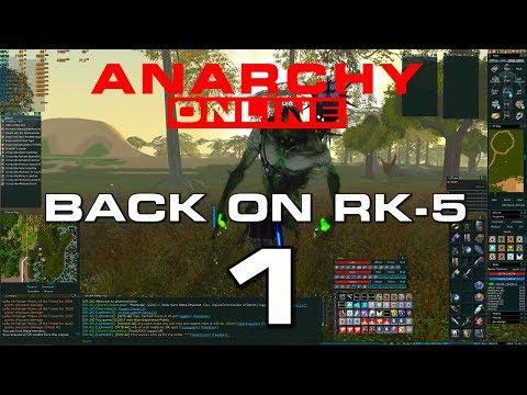 Anarchy Online  –  RK-5 SERVER – DAY 1