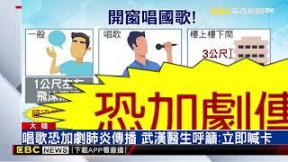 武漢抗疫發起「開窗唱國歌」 醫呼籲:危險快停