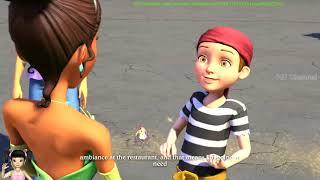 BabyBus - Tiki Mimi và trò chơi khám phá thế giới hoạt hình Disney tập 18