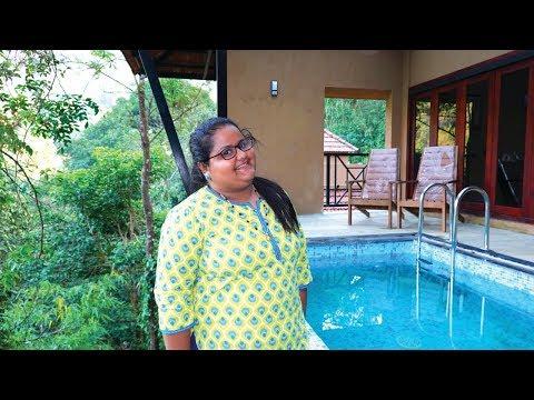 15000 രൂപയ്ക്ക് ഒരു പ്രൈവറ്റ് പൂൾ വില്ല - Silent Creek Resort Pool Villa in Wayanad