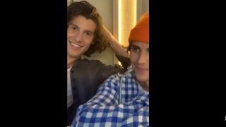 Justin Bieber & Shawn Mendes Instagram Live Stream 20.11.2020